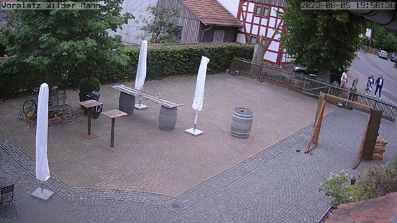 Webcam Wilder Mann
